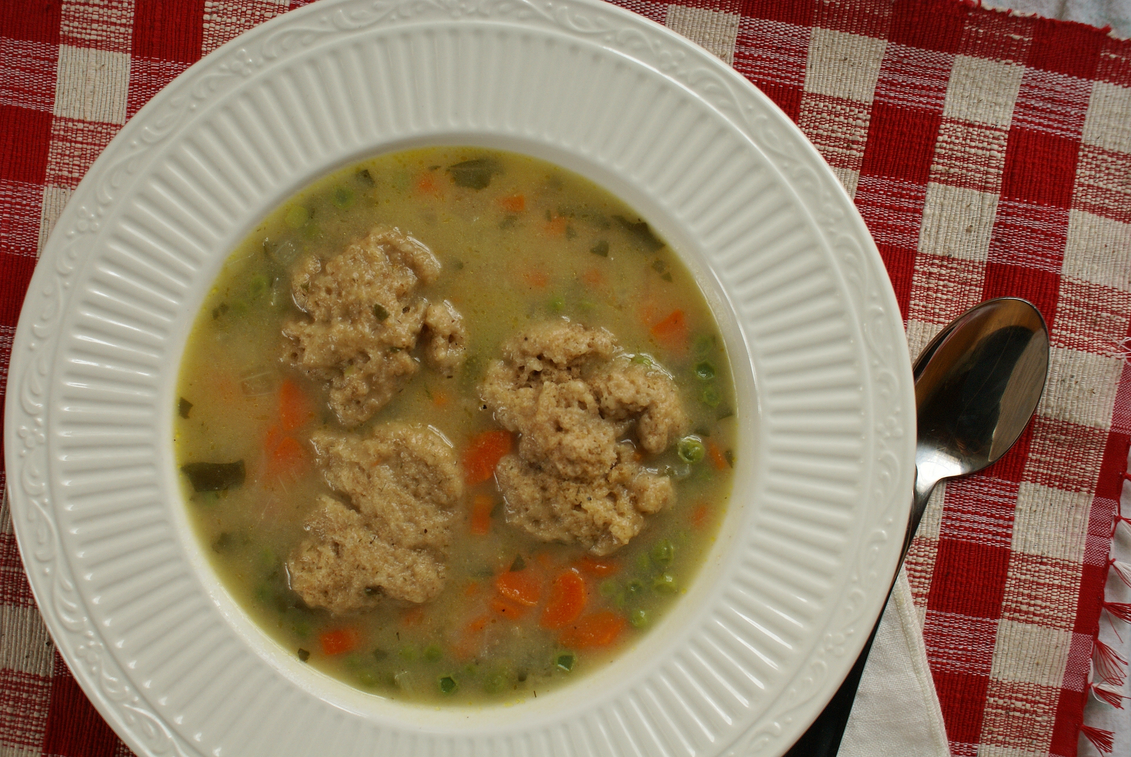 Plump Pea Dumpling Recipe — Dishmaps