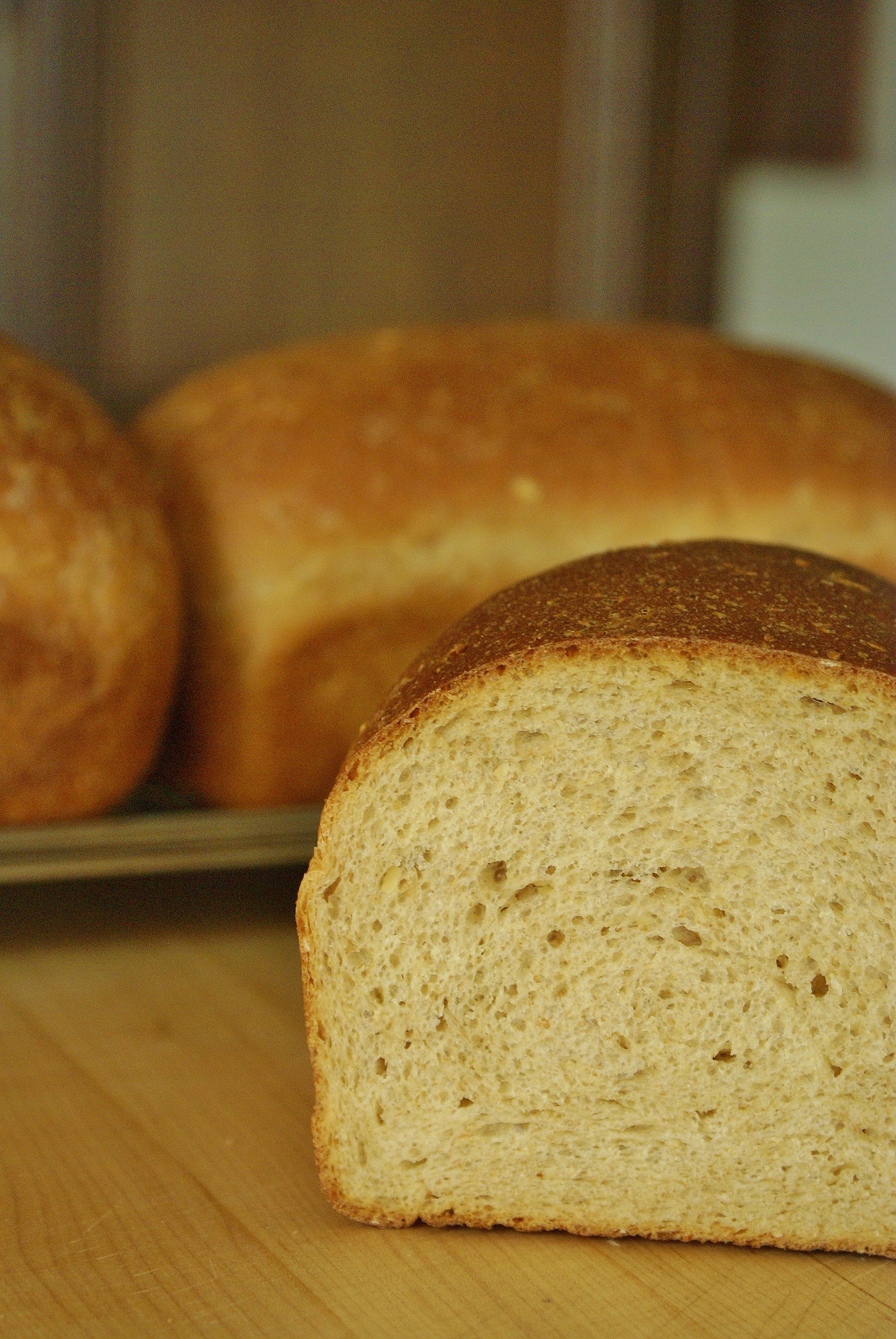 Honey Oatmeal Bread | Whole Eats & Whole Treats