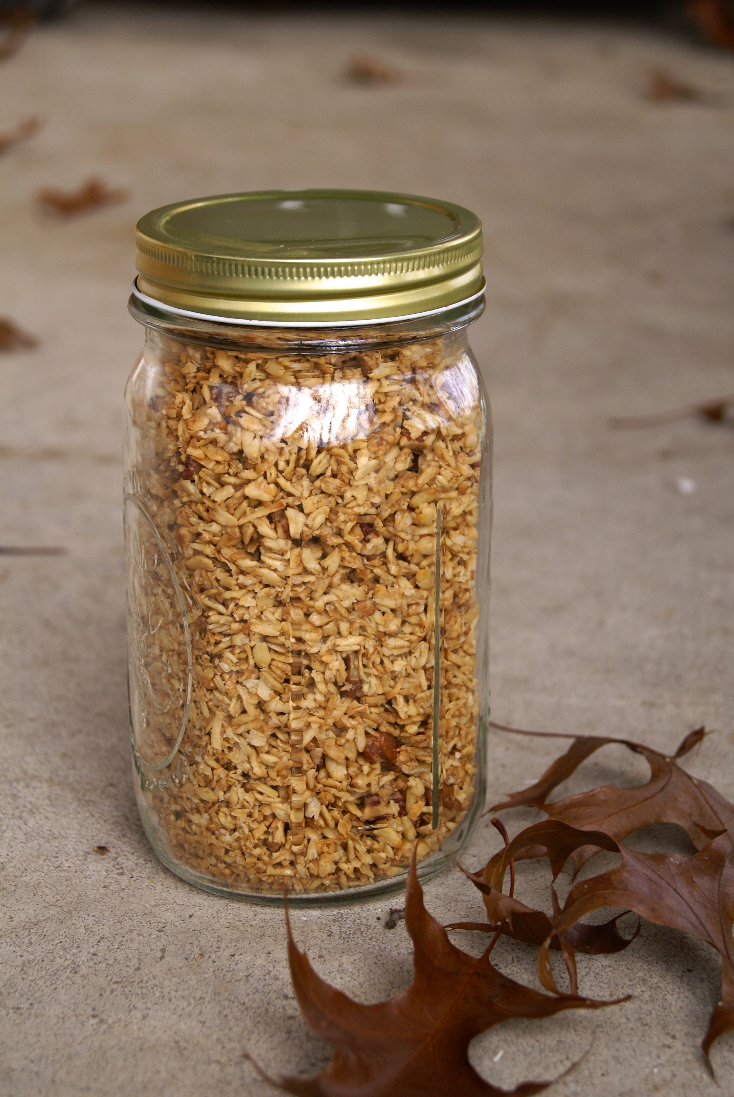 brown sugar granola and weekly menu for 10 29 12 whole eats
